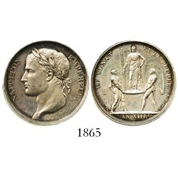 France, silver medal, Napoleon, AN XIII (1804/5), senate and people.