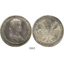 Potosi, Bolivia, 8R-sized silver medal, Ferdinand VII, 1816, in appreciation for services, ex-Derman