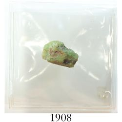 Medium-sized natural emerald, 9.01 carats, with (1990) Frank Sedwick certificate.