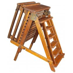 Rare Salesman Sample Ladder & Scaffolding