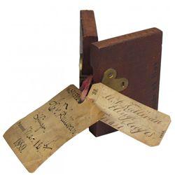 1889 Patent Model Hinge