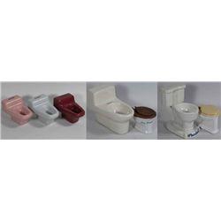 Seven Toilet Salesman Samples