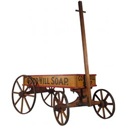 Good-Will Soap Wood Childs Wagon