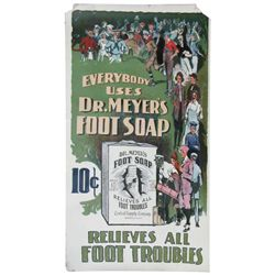 Dr. Meyer's Foot Soap Paper Poster