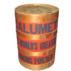 Calumet Baking Powder 100 lb Barrel