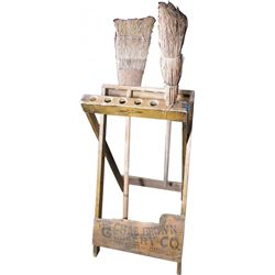 Country Store Broom Holder