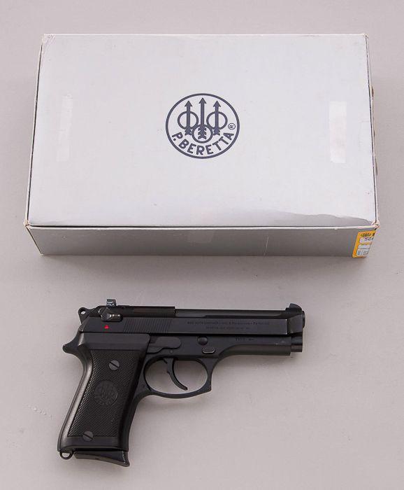 Beretta Model 92FS Compact SA Pistol, Type-M