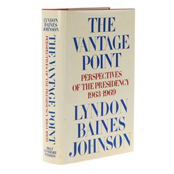 JOHNSON, Lyndon Baines - The Vantage Point: Perspectives of the Presidency, 1963-1969