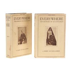 SAVAGE-LANDOR, A. Henry - Everywhere: The Memoirs of an Explorer