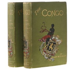 STANLEY, Henry M. - The Congo and the Founding of Its Free State. A Story of Work and Exploration.