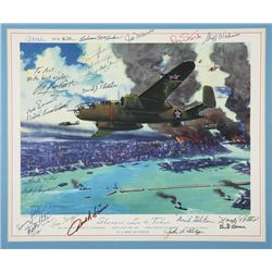 DOOLITTLE, James H. - Shangri-La to Tokyo - Signed Lithograph