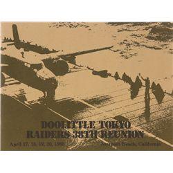 DOOLITTLE, James H. - Doolittle Tokyo Raiders 38th Reunion