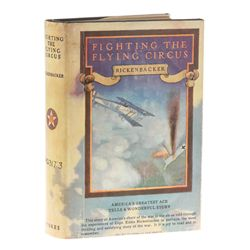 RICKENBACKER, Edward V. - Fighting the Flying Circus, Leroy Prinz's copy with his bookplate