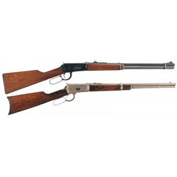Two Winchester Lever Action Carbines