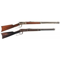 Collector's Lot of Two Winchester Lever Action Long Guns