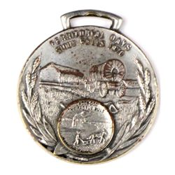 Antique advertising watch fob Sioux Fall SD