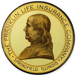 Vintage Franklin Life tip tray
