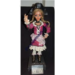 DISNEY ON PARADE PIRATE GIRL MAID CAPTAIN COMPLETE ANIMATRONIC PUPPET DOLL IT'S A SMALL WORLD?
