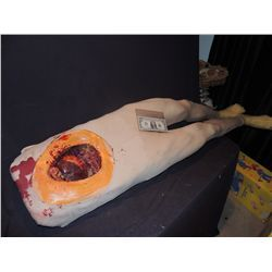 HOUSE M.D. OPEN HEART SURGERY MALE BODY SCREEN USED POLY FOAM IN BODY SOCK WITH SILICONE SKIN
