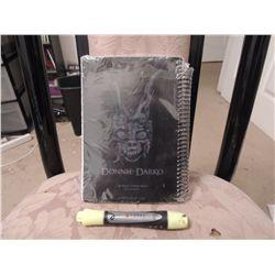 DONNIE DARKO RARE WORLD PREMIER PROMO NOTE BOOK PREMIUM NO RESERVE!