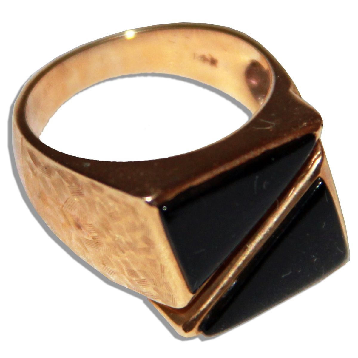 Arthur Ashe's Personally Owned Gold Ring
