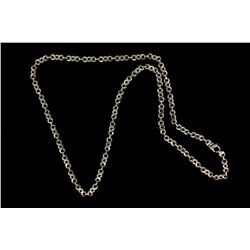 "CHAIN:  [1] 10k WG fancy link style chain; 28 1/2 ""s; 58.0 grams"