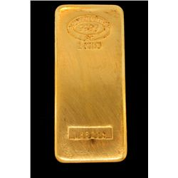BULLION: (32) Johnson Matthey 1 Kilo (1000 grams ea.) gold bars; .999 fine gold; Serial Numbers: 176