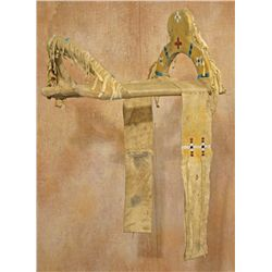 Southern Plains Beaded Saddle