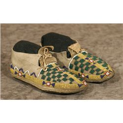 Lakota Sioux Beaded Moccasins