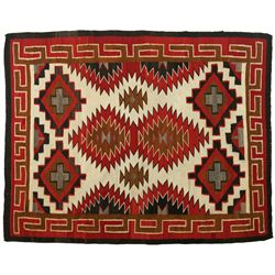 "Navajo Weaving, 5'11"" x 4'9"""