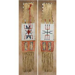Lakota Beaded and Quilled Pipebag