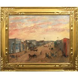 William Turner Porter, oil on canvas