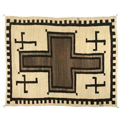"Navajo Weaving, 6'9"" x 5'5"""