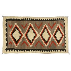 Navajo Transitional Era Weaving, 7'8  x 4'4