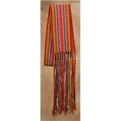 Red River Finger Woven Sash