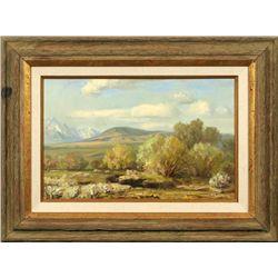 Rod Goebel, oil on canvas