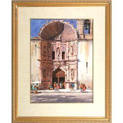 Tom Hill, watercolor