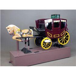 Vintage Stagecoach Kiddie Ride