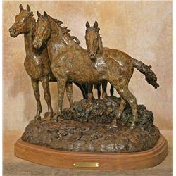 Ron Stewart, bronze