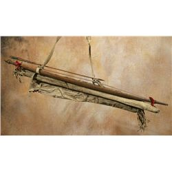 Comanche Bowcase and Quiver Set