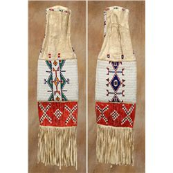 Sioux Beaded and Quilled Pipebag