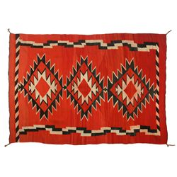 Navajo Transitional Weaving, 7'2  x 5'1