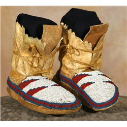 Blackfeet Beaded Moccasins