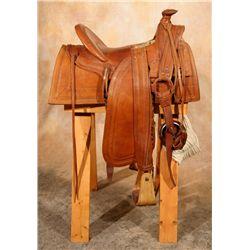F. A. Meanea Co. Saddle (Cheyenne, WY)