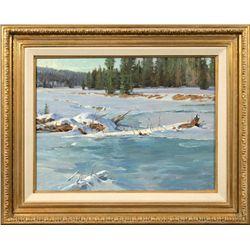 Jim Wilcox, oil on canvas