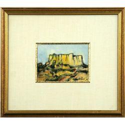 Paul Dyck, watercolor