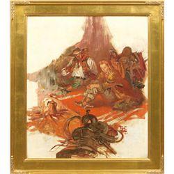 Benton Clark, oil on canvas