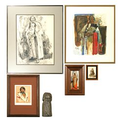 Six Works: Nicolai Fechin, William Reese, Doug Prine, Laura Woolschlager, Thomas Lorimer and Neil Bo