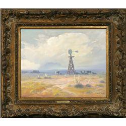 Carl Smith, oil on canvas