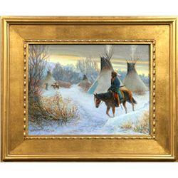 Bryan Tarter, oil on canvas